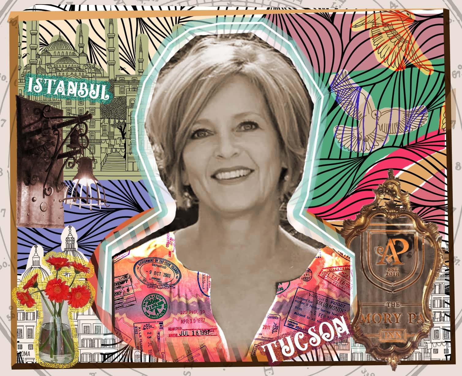 Amy Draper collage