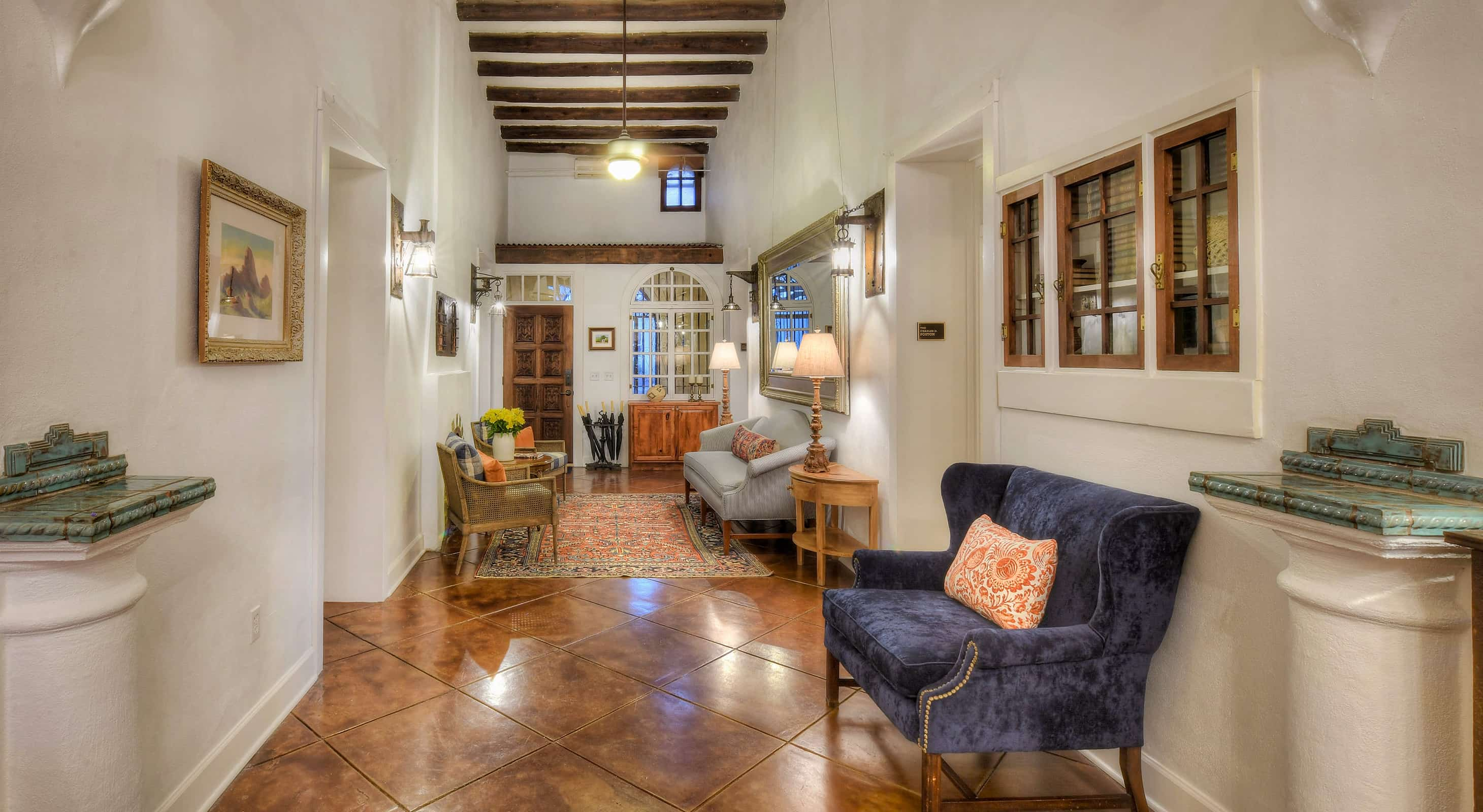 Entry at our Tucson boutique hotel