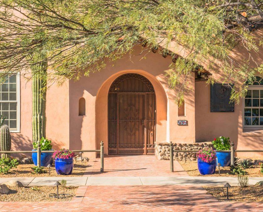 Armory Park Inn Entrance