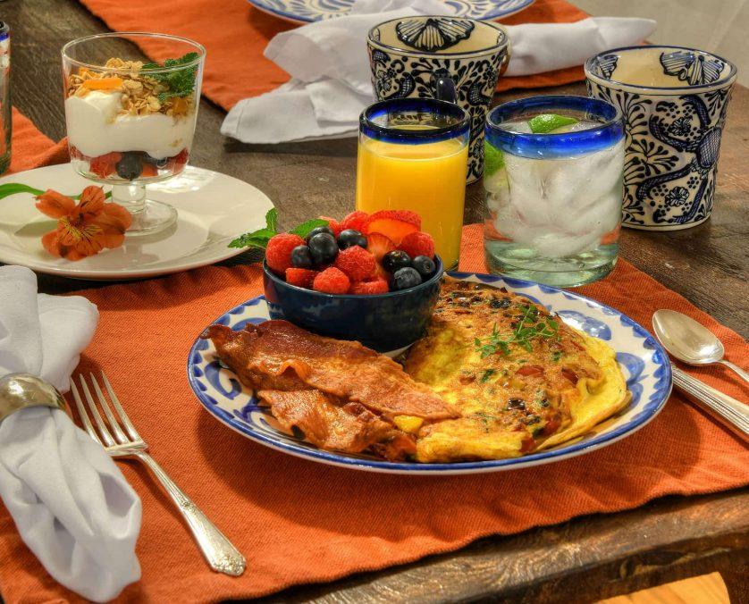 Breakfast at Armory Park Inn