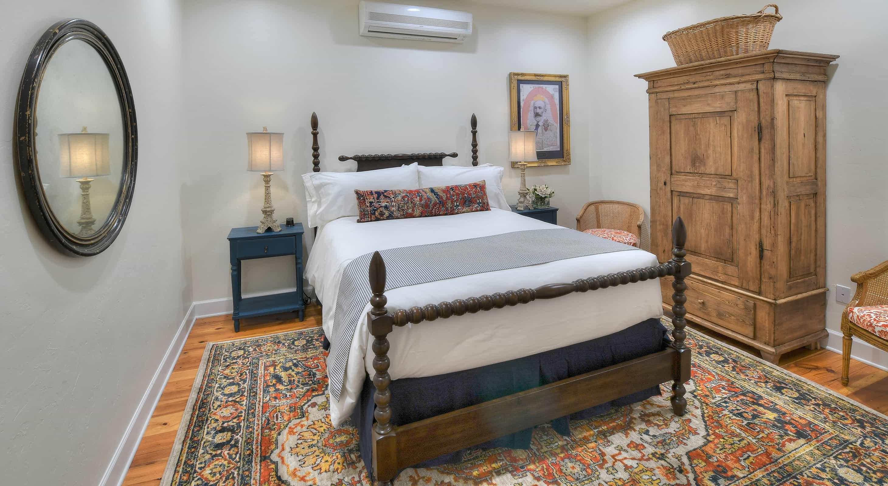 The Estevan Ochoa Room bed